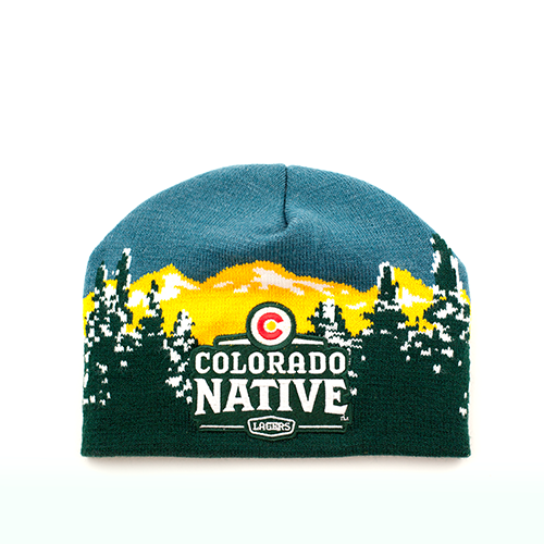 Colorado Native Knit Beanie
