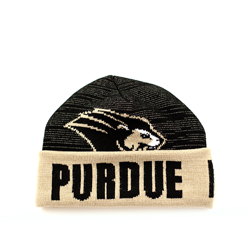 Purdue Knit Fold Up Hat